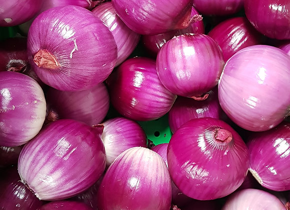 Onions, red, peeled 500g