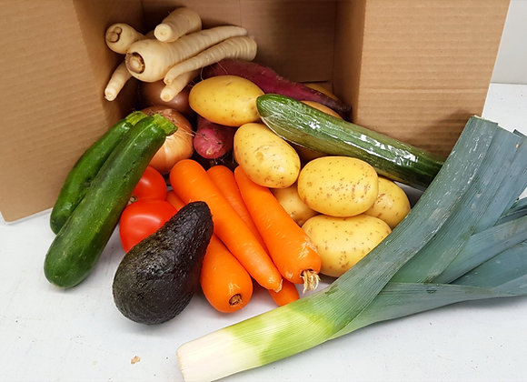 Small Vege only box