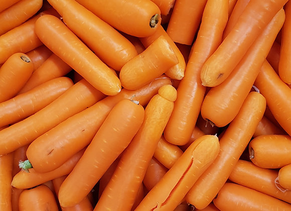 Harvest Run Carrots, priced per kg