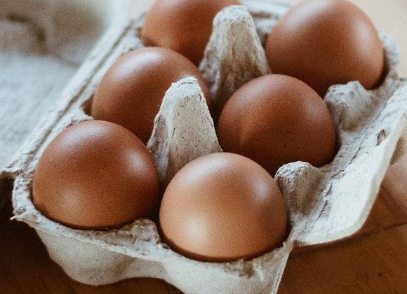 Eggs, pasture-raised, half dozen