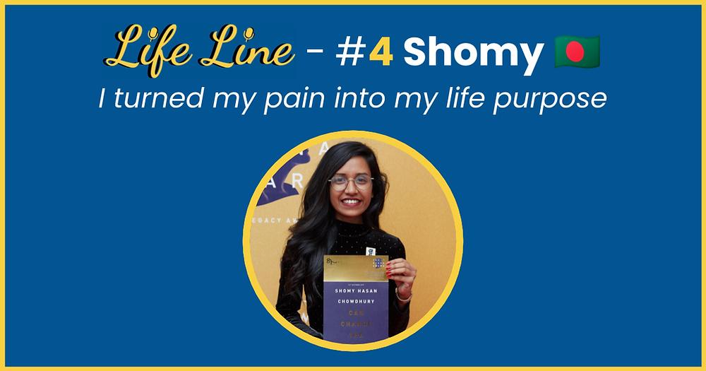 Shomy Hasan Chowdhury - Life Line Podcast Cover