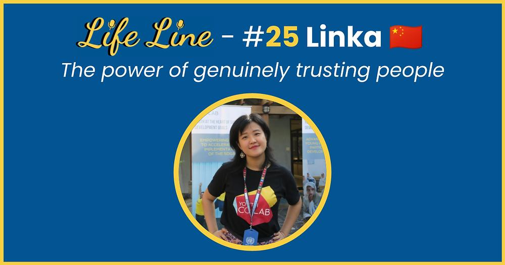 Linka Lin - Life Line Podcast Cover