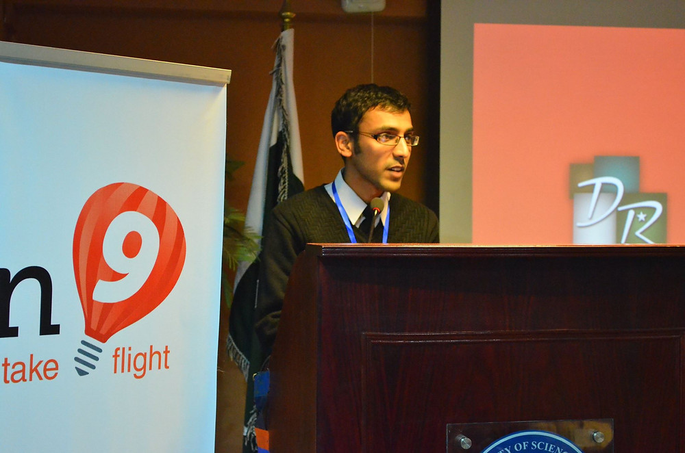 Ommer pitching at Plan9