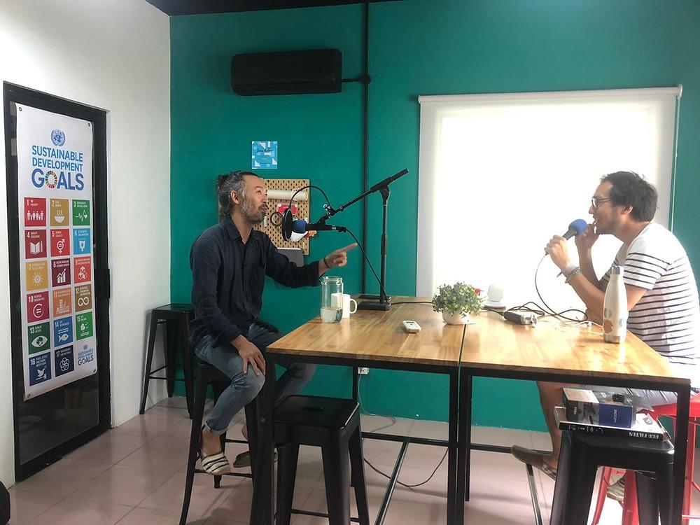 Shunsuke Miyatake - Life Line Podcast Cover