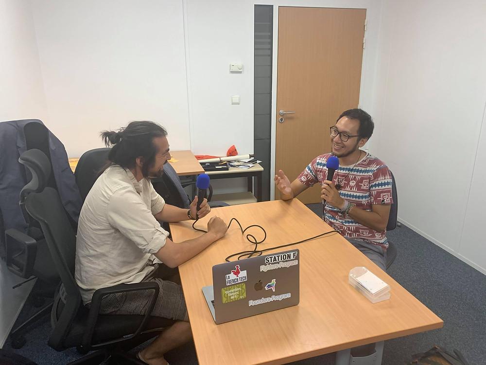 Podcast interview with Yama Saraj