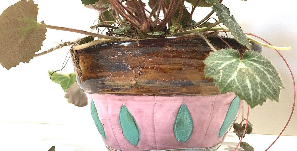 Pink Shimmer Planter