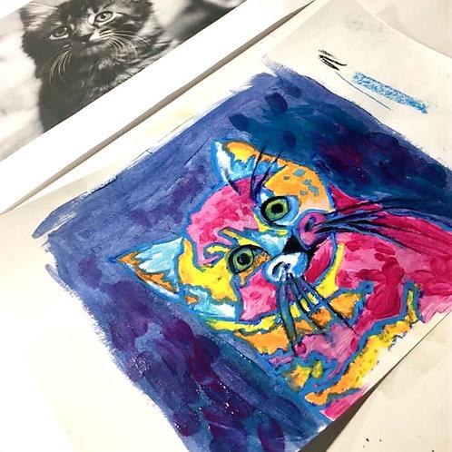 Image Transfer Cat