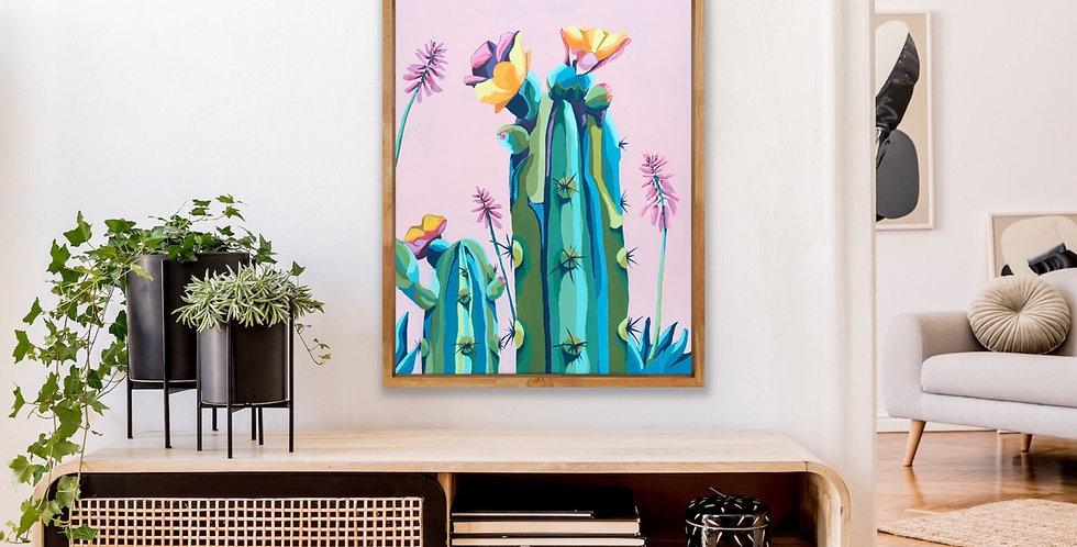 Perfectl Happy Cacti