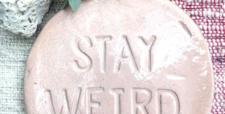 Stay Weird Hotplate