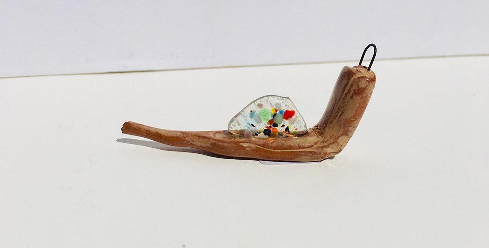 Transparent Confetti Snail 2