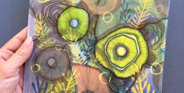 Mushroom Cluster Print