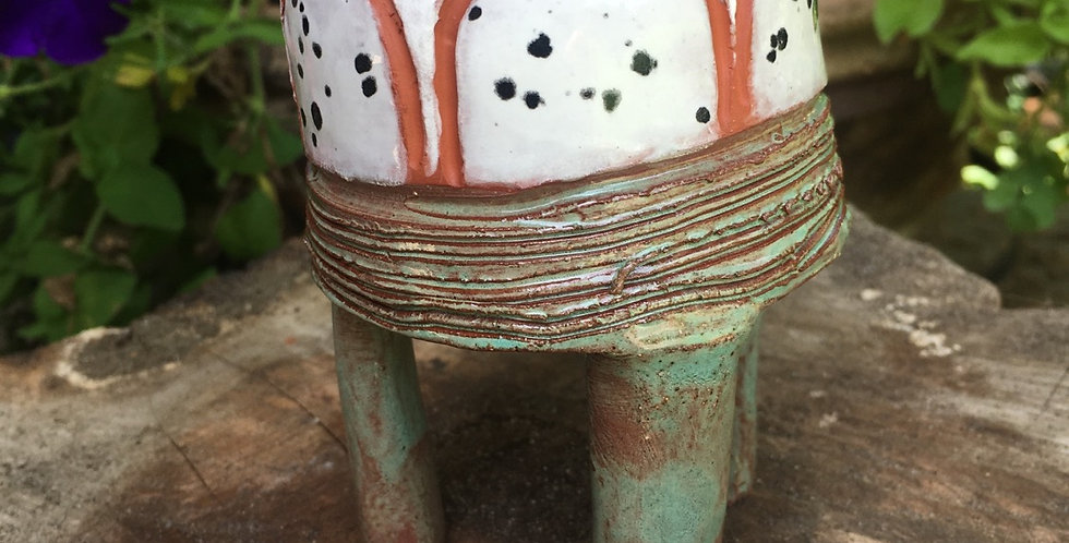 Crackle and Grow Planter