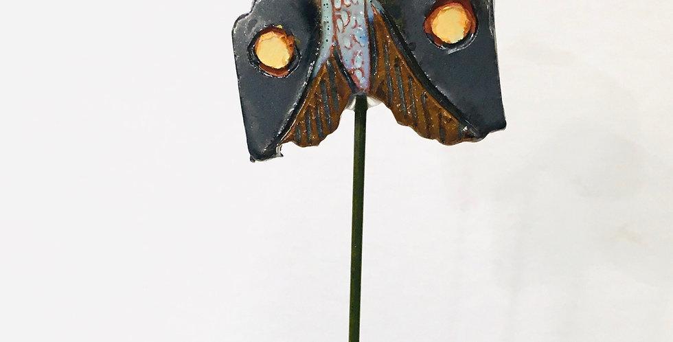 Sun Spots Moth Garden stake