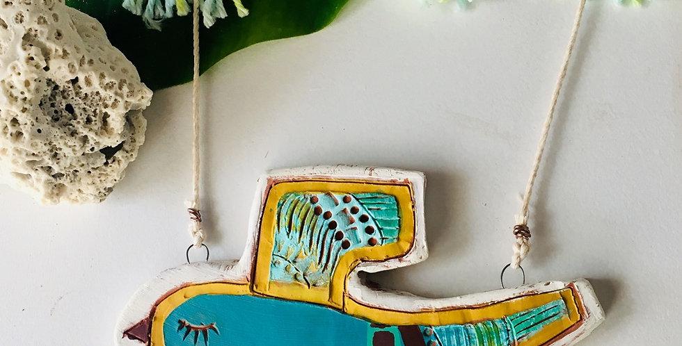 Blue Bird Wall Hanging