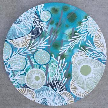 "12"" diameter, sold $275"