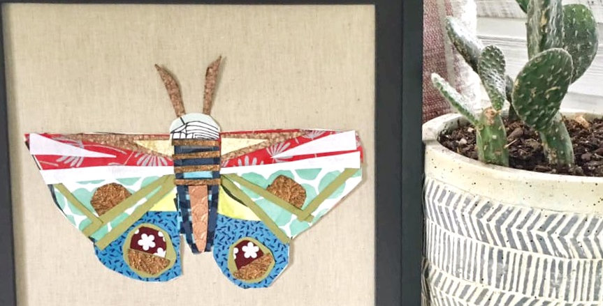 Framed Paper Butterfly