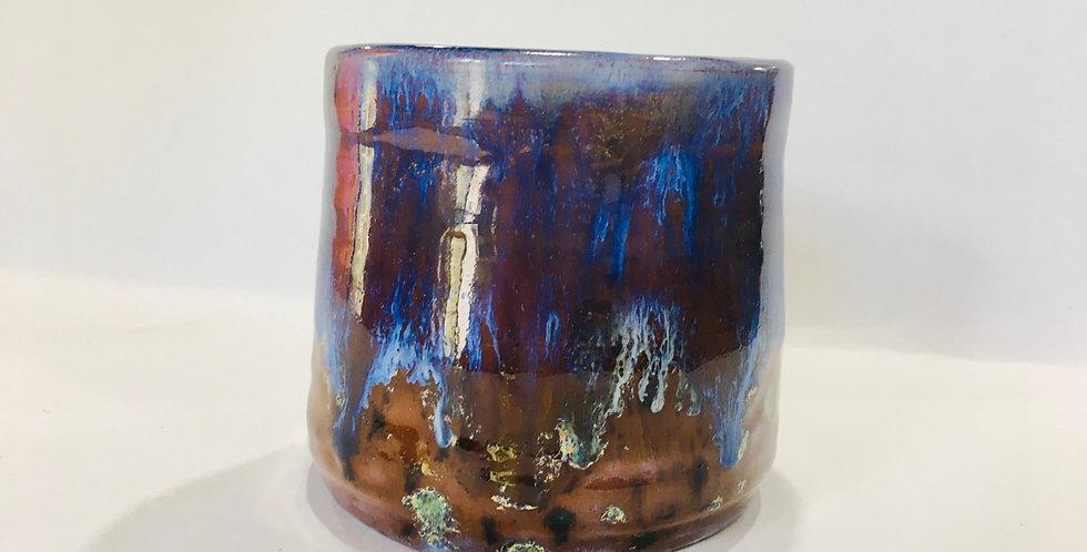 Medium Blue/Brown Tumbler