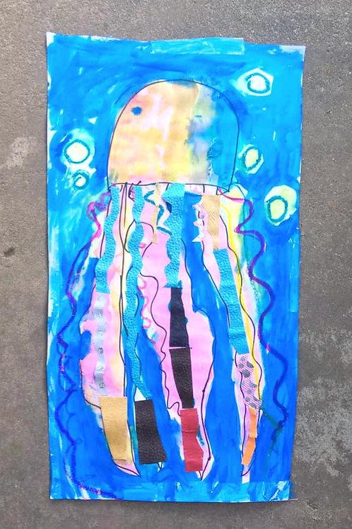 Mixed Media Jellyfish