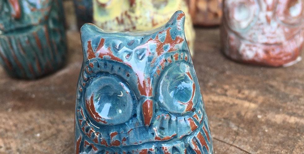 Little Blue Crackle Owl