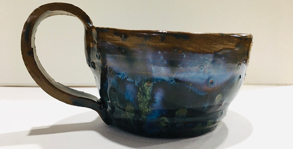 Green Flecks mug