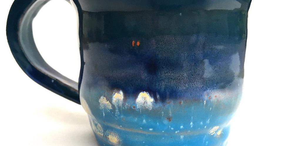 Blue on Blue Mug