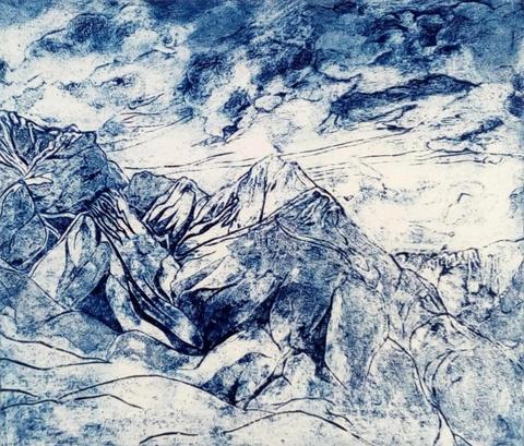 Blue in Jasper