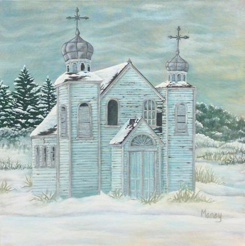 Blue Church at Peterson