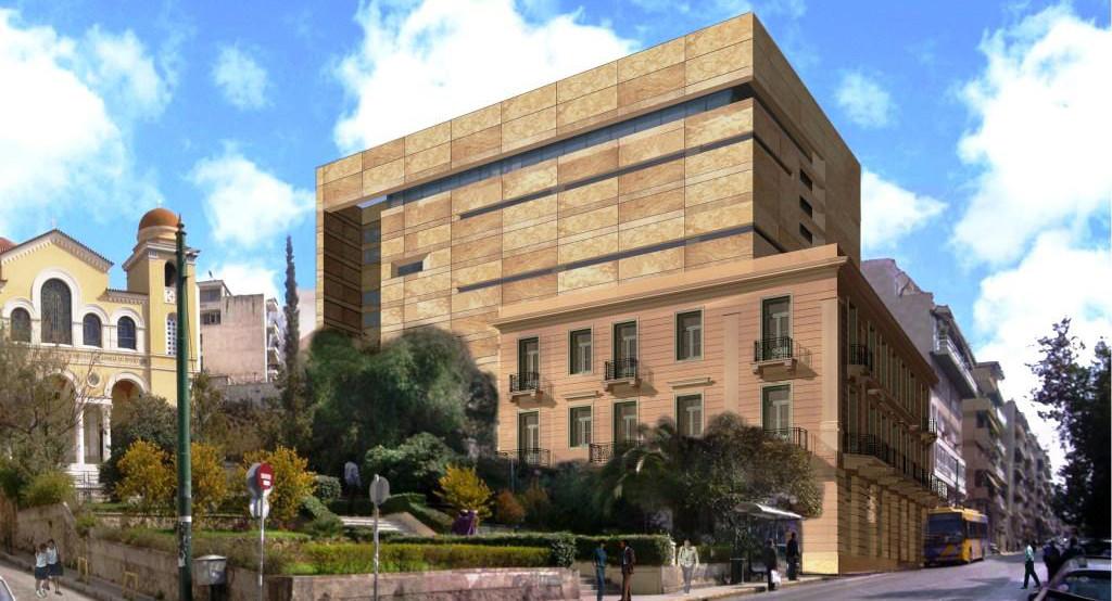 Modern Art Museum Athens V & E Goulandris