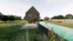 Moderní rodinný dům- Post and Beam