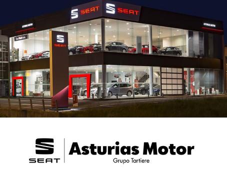 Seat Asturias Motor, patrocinador oficial