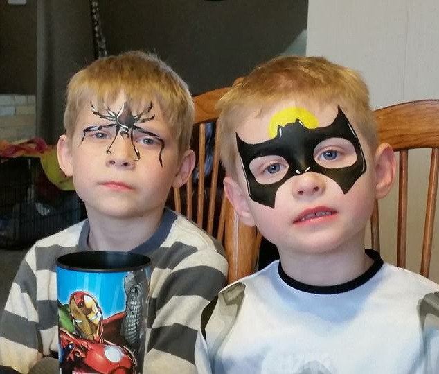 Spider and Batman