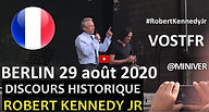 Robert Kennedy Junior - 29 aout 2020 - B