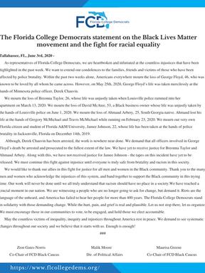 George Floyd press release.png