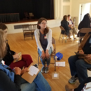 Pentucket Regional High School Students Host Climate Café