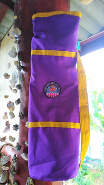 Hand Made Lotus yoga mat bag (big size)