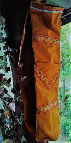 Hand made cotton yoga mat bag (big size)