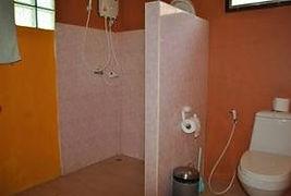 bathroom at Delma resort