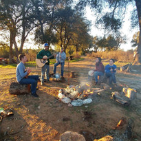 Campfire Jam at Fort Cross Old Timey Adv