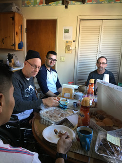 Brunch with the guys