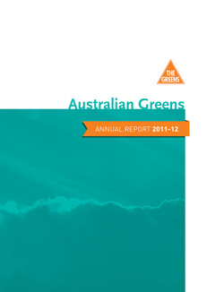 Australian Greens Report