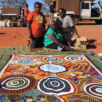 Central dessert native title determination