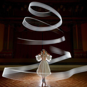 Conceptual light painting