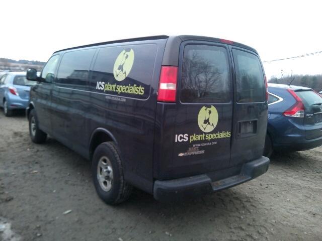 Chevrolet Express Van (rear view)