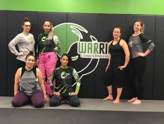 First Womens jiujitsu/ self defense class !!