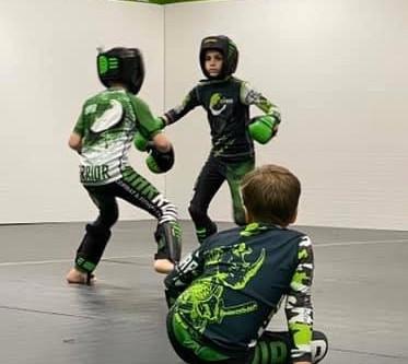 Kids sparring tonight 5:30!