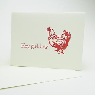 Hey Girl, Hey(Chicken) by Leah Jachimowicz