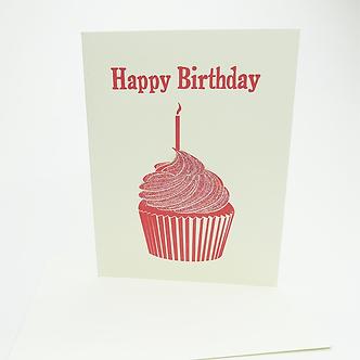 Happy Birthday(Sparkle cupcake) by Leah Jachimowicz