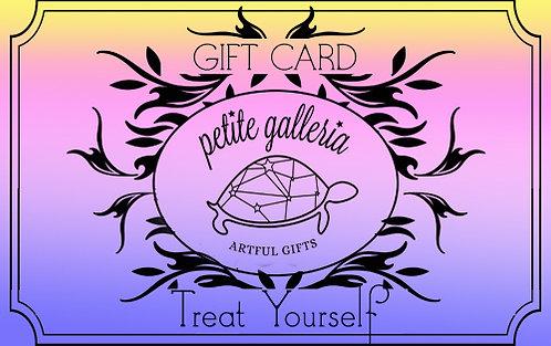 $200 Petite Galleria Gift Card