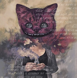 """""""Cheshire Cat"""" by Steven Russell Black"""
