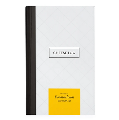 Cheese Log Pocket Notebook by Formaticum